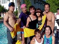 8月/ATS'01(Las Vegas)日本代表プレゼンター 青木美樹 田中義懸