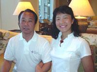 6月/ATS'08(Ft.Myers)日本代表プレゼンター 筒井美恵 田中義懸