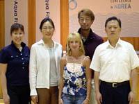 7月/韓国・アクアエクササイズ国内総会(Seoul Korea)日本代表プレゼンター 西森央 吉田賢一