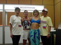 6月/IAFC'02(Las Vegas Nevada)日本代表プレゼンター 原恵 西森央