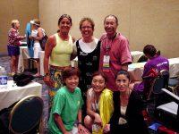 8月/ATS'02(Orlando Florida)日本代表プレゼンター 矢野真弓