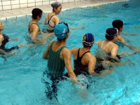 ハーフディ講習会 水泳へのアクア 2