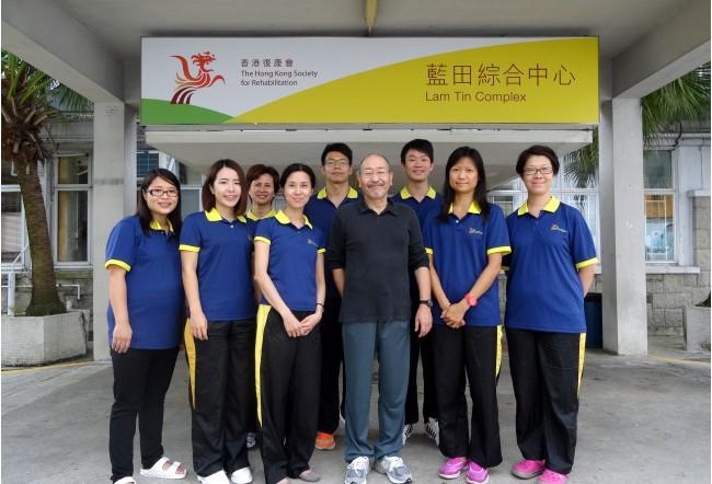 10月 香港リハビリセンター 顧問 2